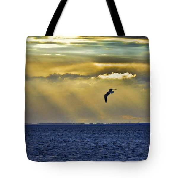 Tote Bag featuring the photograph Glorious Evening by Jan Amiss Photography