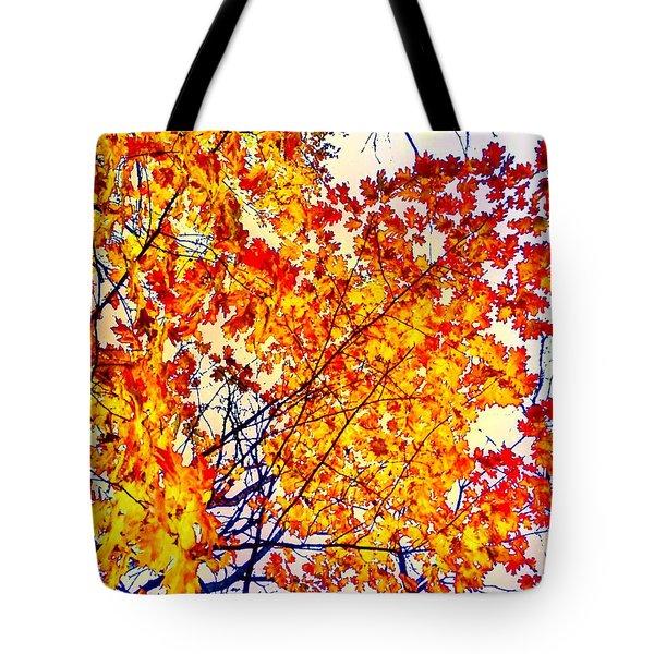 Glorious Foliage Tote Bag