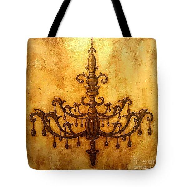 Glorious Light Tote Bag by Sandra Lett
