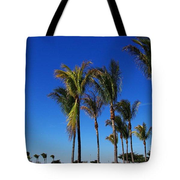 Glorious Palms Tote Bag by Zalman Latzkovich