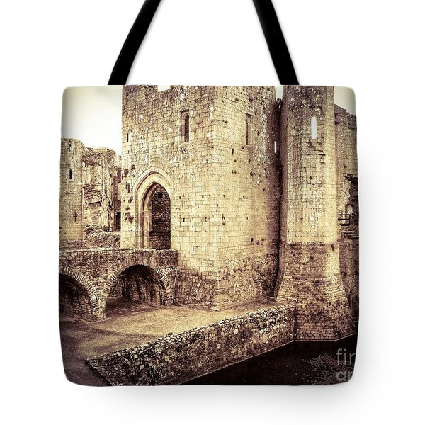 Glorious Raglan Castle Tote Bag