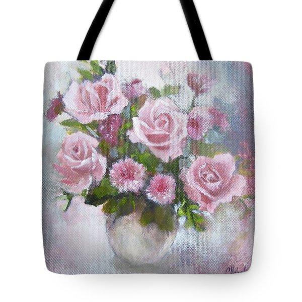 Glorious Roses Tote Bag