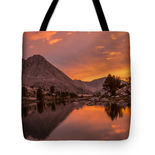 Glorious Sierra Sunset Tote Bag