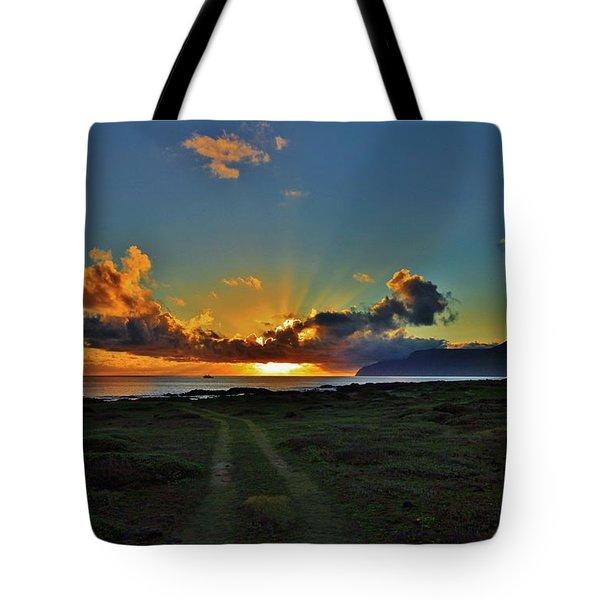 Glorious Sunrise Tote Bag by Craig Wood