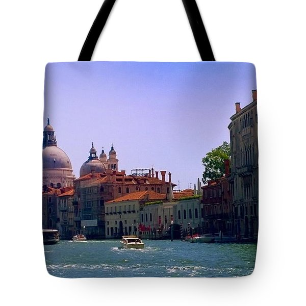 Tote Bag featuring the photograph Glorious Venice by Anne Kotan