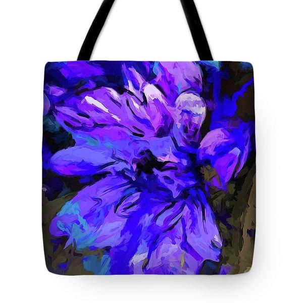 Glory Blue Tote Bag