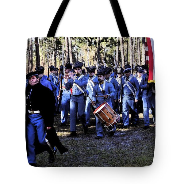 Glory Bound Tote Bag by David Lee Thompson