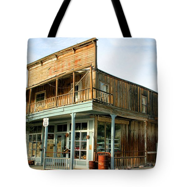 Glory Hole Route 66 Tote Bag by Kristin Elmquist