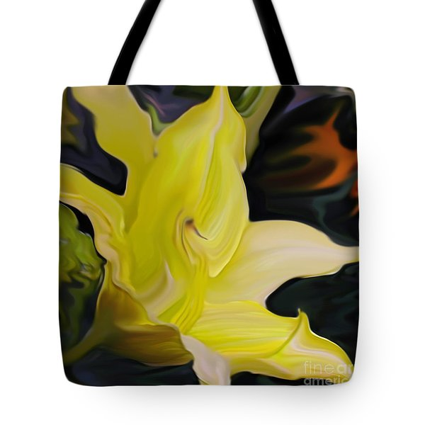 Tote Bag featuring the painting Glory II by Patricia Griffin Brett