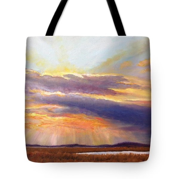Glory Lights Tote Bag