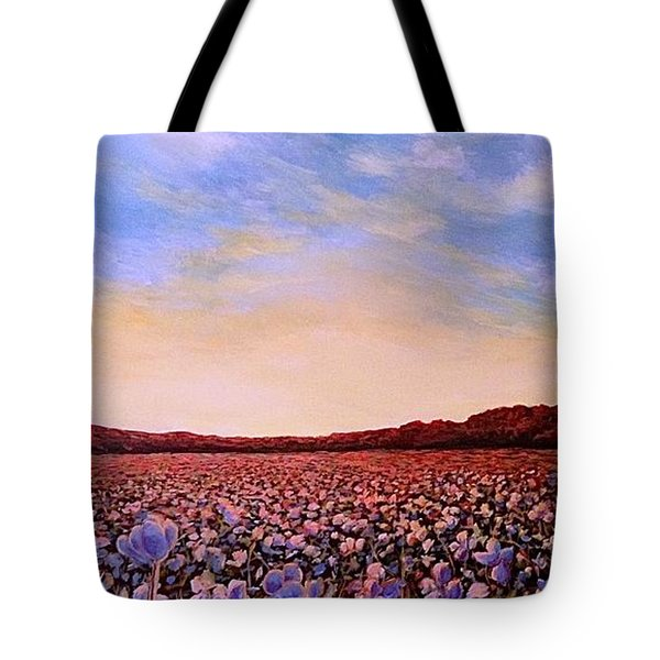Glory Of Cotton Tote Bag