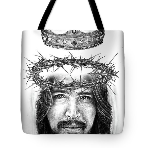 Glory To The King Tote Bag