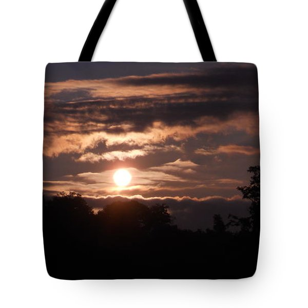 Tote Bag featuring the photograph Glory Train In The Sky by Diannah Lynch
