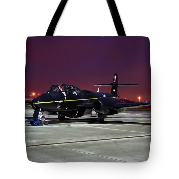 Gloster Meteor T7 Tote Bag by Tim Beach