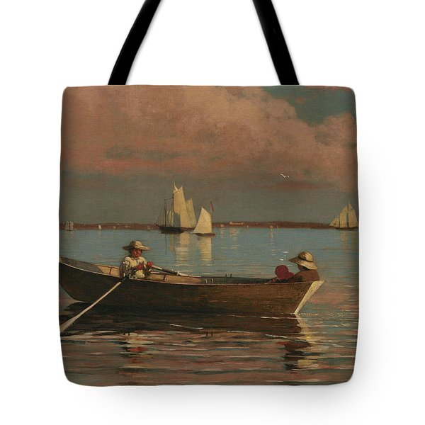 Gloucester Harbor Tote Bag