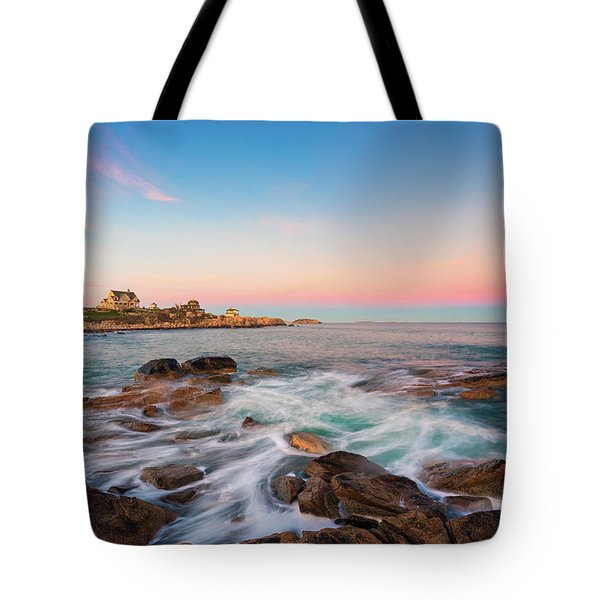 Tote Bag featuring the photograph Gloucester Sunset 1 by Brian Hale