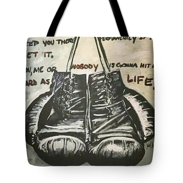 Gloves Of Life Tote Bag