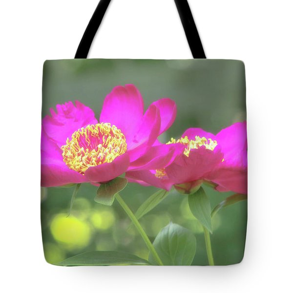 Tote Bag featuring the photograph Glow Blossoms by Deborah  Crew-Johnson