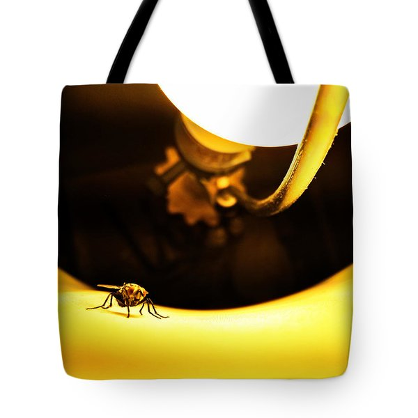 Glow Fly Tote Bag