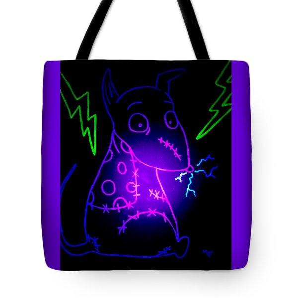 Glow Frankenweenie Sparky Tote Bag