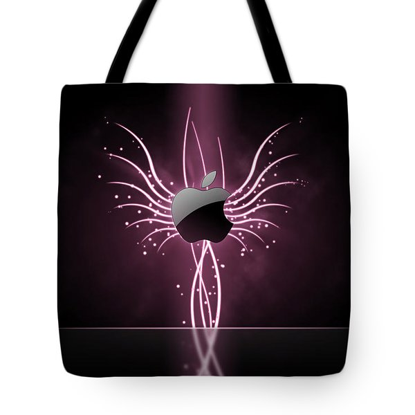 Glow From Apple Tote Bag