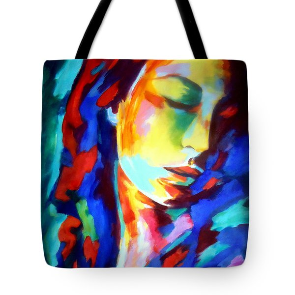 Glow In Shadows Tote Bag