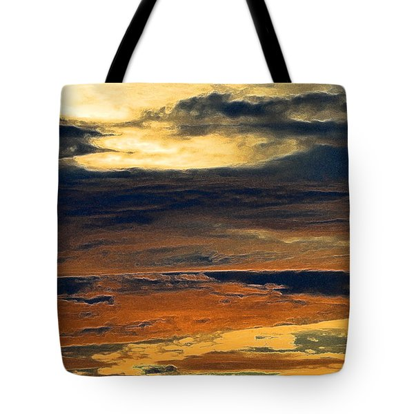 Glow In The Clouds 3  Tote Bag by Lyle Crump