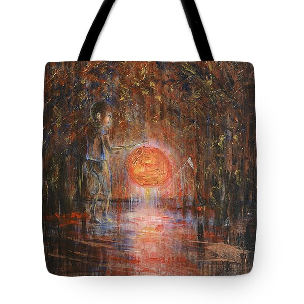 Glow In The Dark Tote Bag