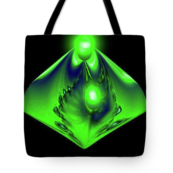 Tote Bag featuring the mixed media Glow by Kevin Caudill