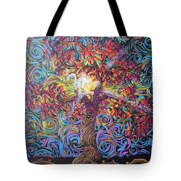 Glow Of Love Tote Bag
