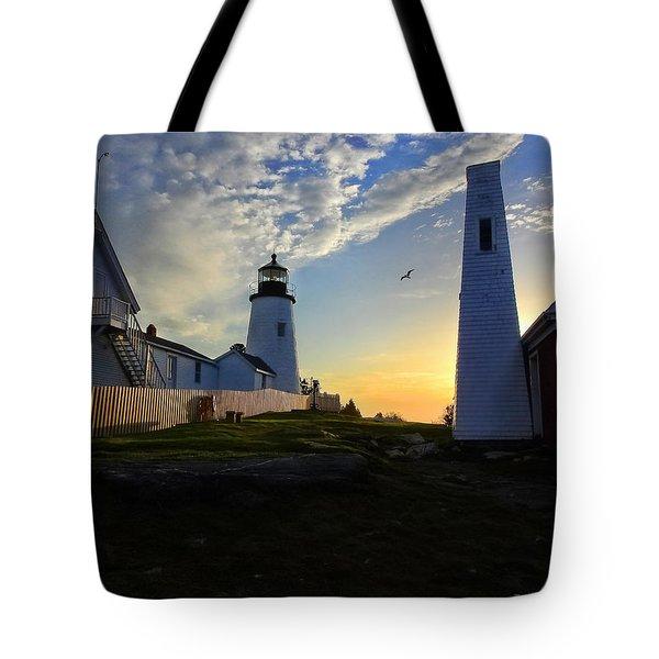 Glow Of Morning Tote Bag