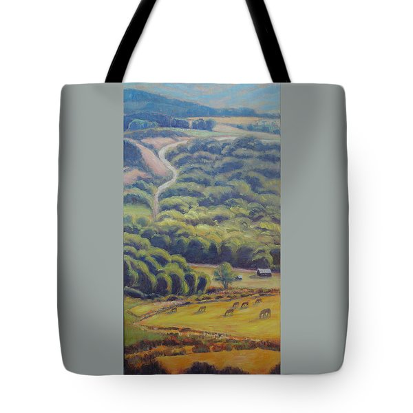 Glow Of The Rising Sun Tote Bag