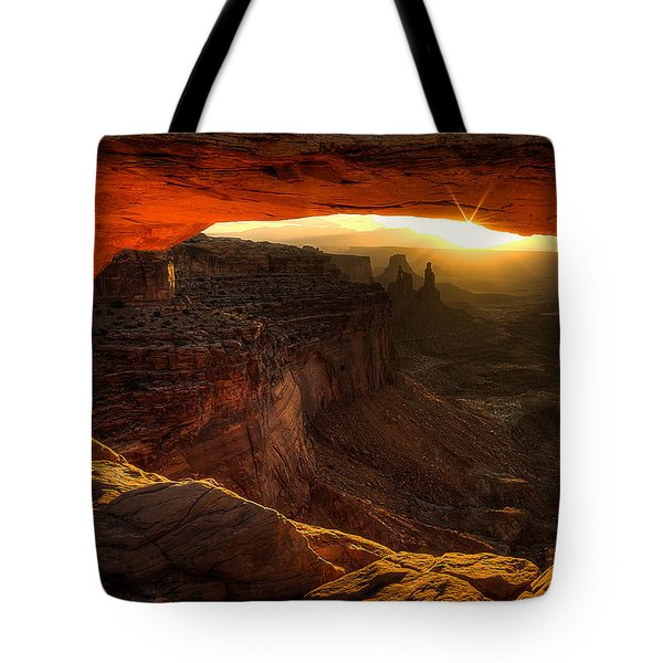 Underglow -zoomed In- Tote Bag