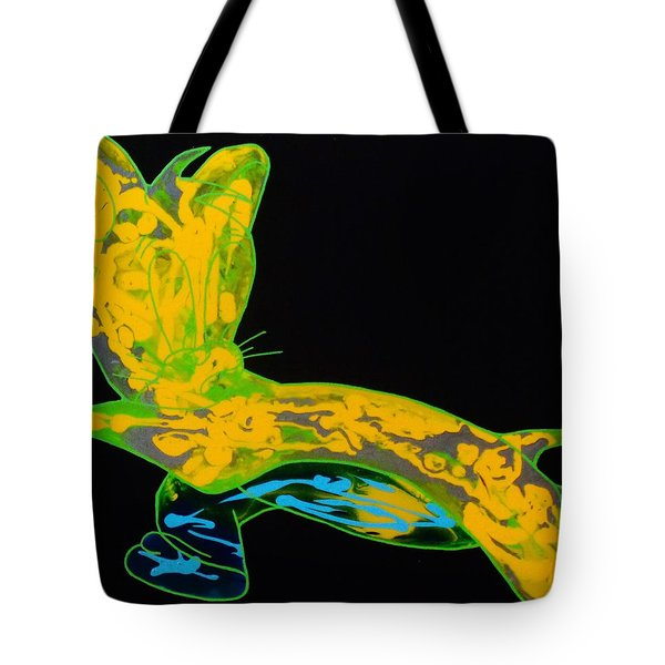 Glow Stick Tote Bag