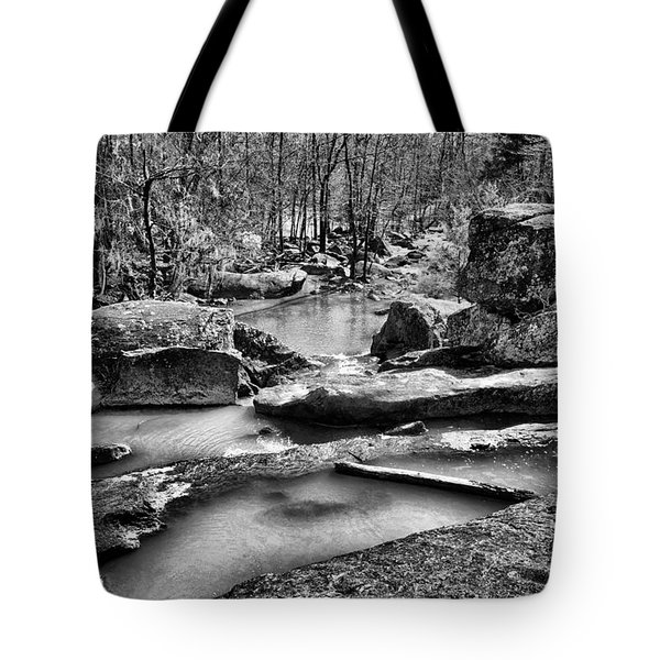 Tote Bag featuring the digital art Glow Water by Greg Sharpe