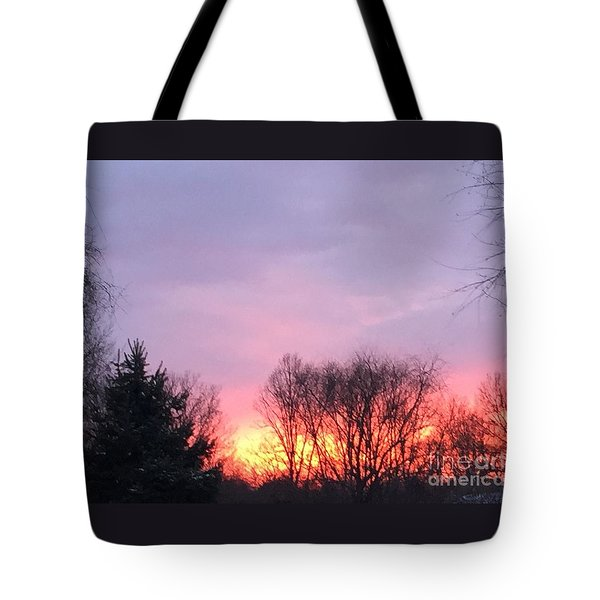 Glowing Almost Gone Tote Bag