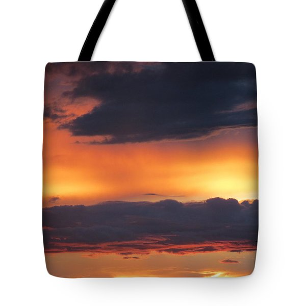 Glowing Clouds Tote Bag