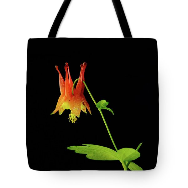 Glowing Colombine Tote Bag