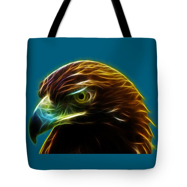 Glowing Gold Tote Bag