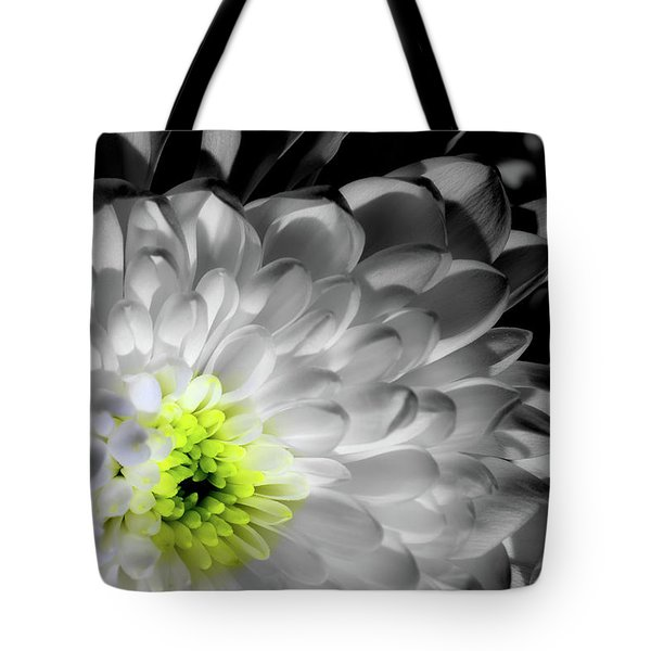 Glowing Heart Tote Bag