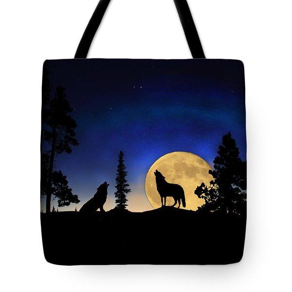 Glowing Horizon Tote Bag