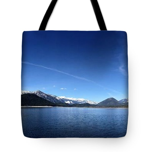 Tote Bag featuring the photograph Glowing In The Blue by Victor K