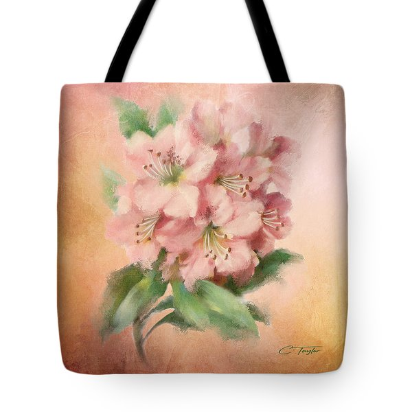 Glowing Incantation Tote Bag by Colleen Taylor