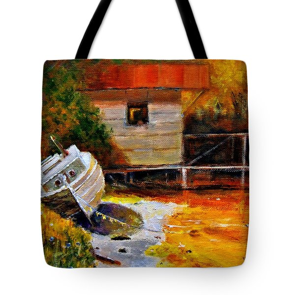 Glowing Light.. Tote Bag