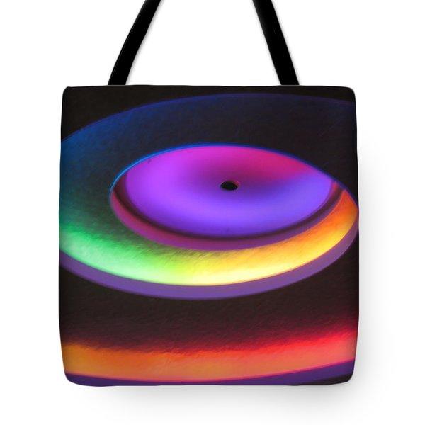 Glowing Lights Tote Bag by Deborah Dendler