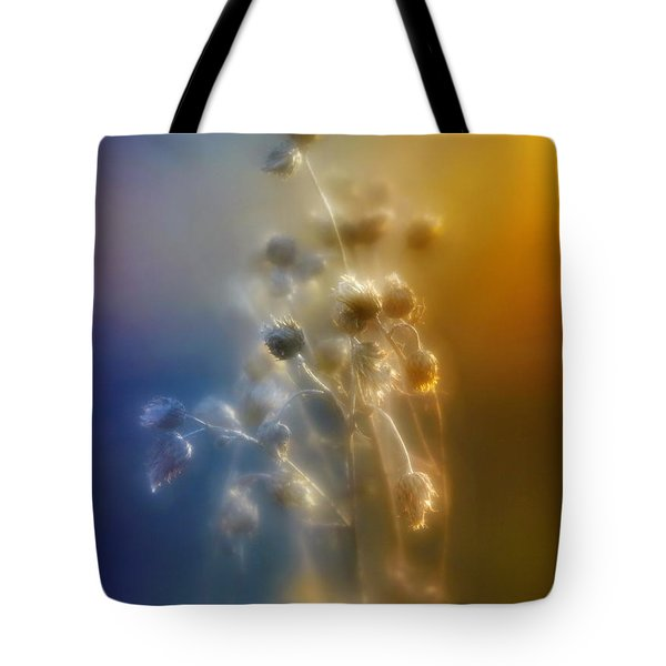 Glowing Love Tote Bag