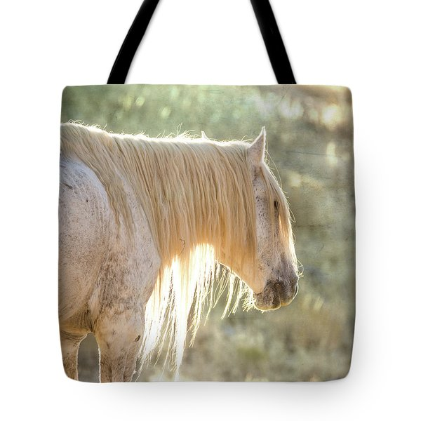 Glowing Tote Bag by Mary Hone