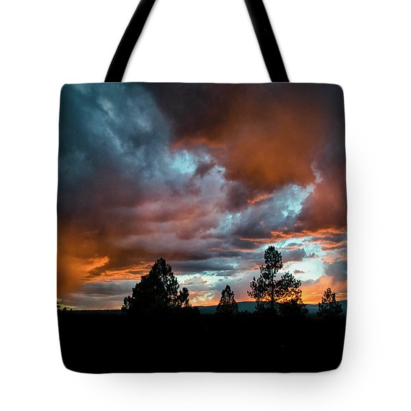 Glowing Mists Tote Bag