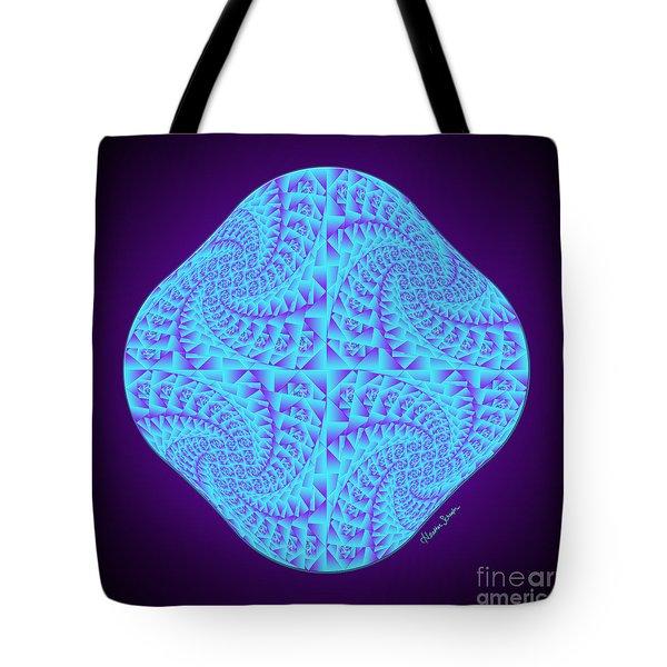 Glowing Moon Diamond Tote Bag