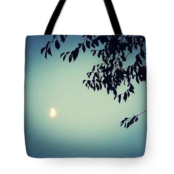 Glowing Moon  Tote Bag
